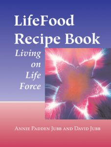 LifeFood recipe and health books published by North Atlantic Books